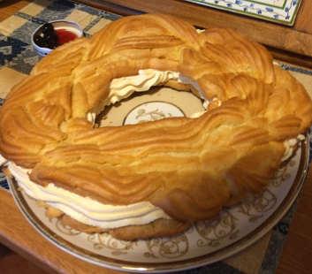 Ingredienti Zeppolone di San Giuseppe senza glutine e senza lattosio