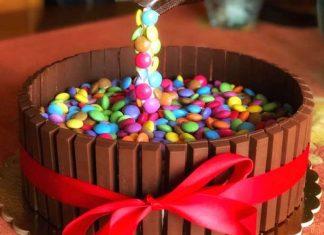 Torta cioccolato Kit Kat smarties e crema al mascarpone