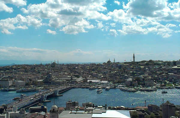 Foto vista dalla Torre di Galata