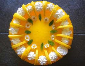 Cheesecake al limone senza cottura Torte di compleanno fatte in casa,