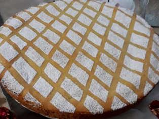 Dolci pasquali: Cassata al forno senza pan di Spagna
