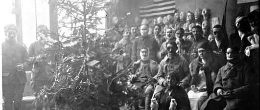 Alcuni soldati con Anna Coleman Ladd