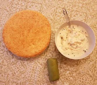 Ingredienti Cassata siciliana fatta in casa al Maraschino