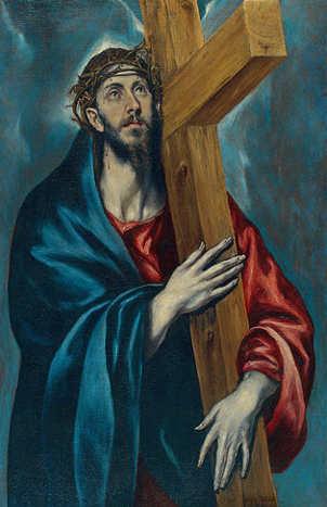 Quadri sulla Pasqua, Cristo portacroce di El Greco