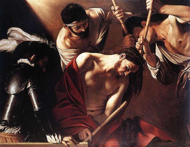 Quadri sulla Pasqua, Incoronazione di spine di Caravaggio