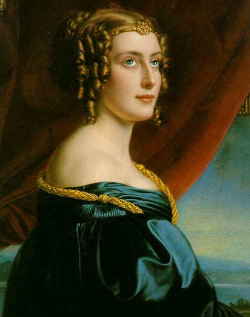 Ritratto di Jane Digby di Joseph Karl Stieler del 1831.