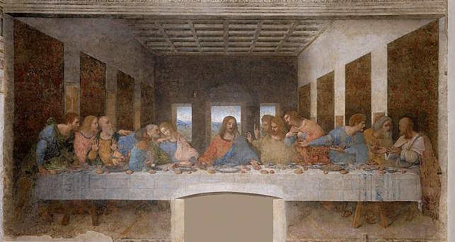 Il Cenacolo L'Ultima Cena di Leornardo Da Vinci
