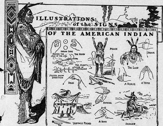 la Plains Indian Sign Language (PISL Lingua dei segni degli indiani delle pianure)
