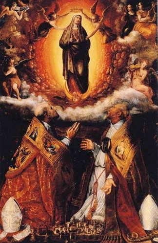 Madonna Assunta di Ponte Santo Imola di Lavinia Fontana