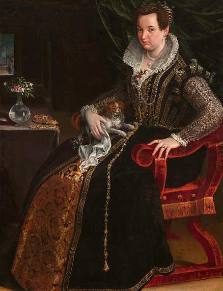 Il Ritratto de Constanza Alidosi Lavinia Fontana