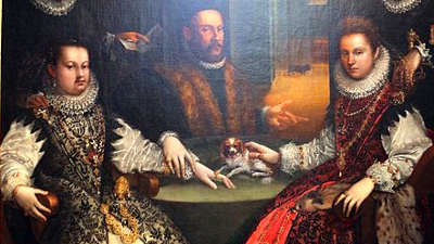 La famiglia Gozzadini, Lavinia Fontana,