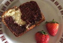 Plumcake senza glutine e yogurt sofficissimo al mascarpone con cuore di Nutella