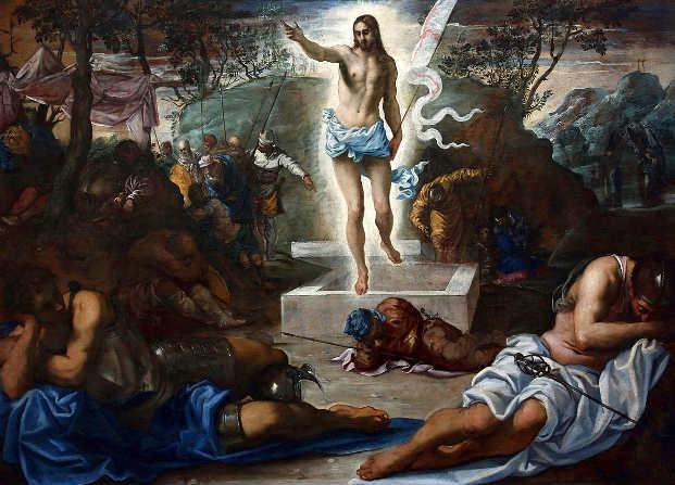 La Resurrezione di Cristo, di Tintoretto