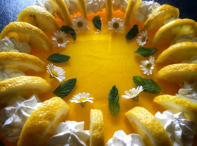 La Ricetta Cheesecake al limone senza cottura