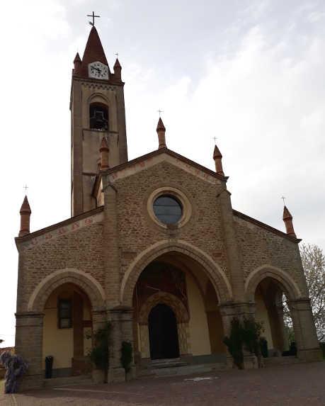 Bossolasco Perla delle Langhe, chiesa