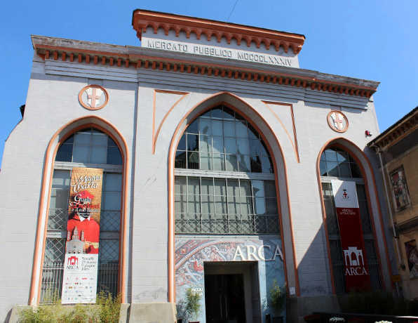 L'Arca, sede della mostra sulla Magna Charta Vercelli 16