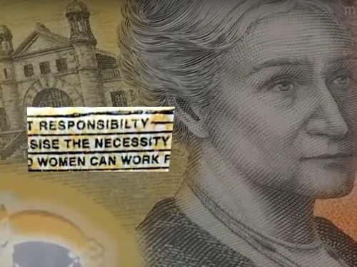 Errore nella banconota da 50 dollari della Reserve Bank of Australia (RBA)