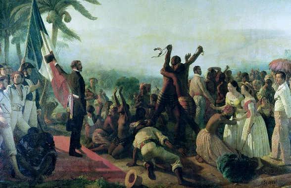L'Abolizione della schiavitù della Francia