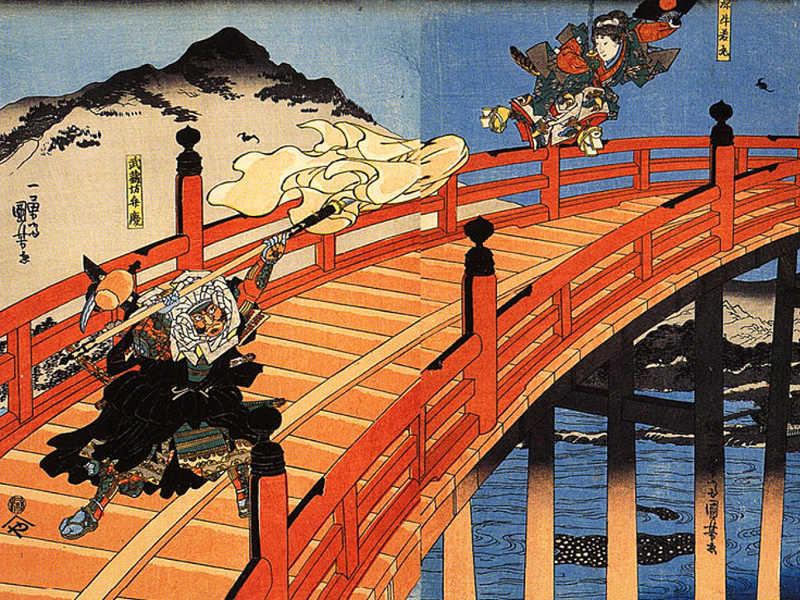 Benkei, il monaco guerriero giapponese che rimase in piedi anche da morto fermando i nemici