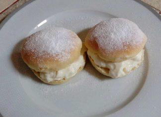 Bomboloni al forno senza burro sofficissimi alla crema di latte