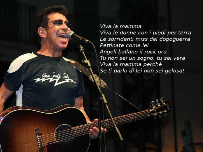 Edoardo Bennato e Viva la mamma testo e video