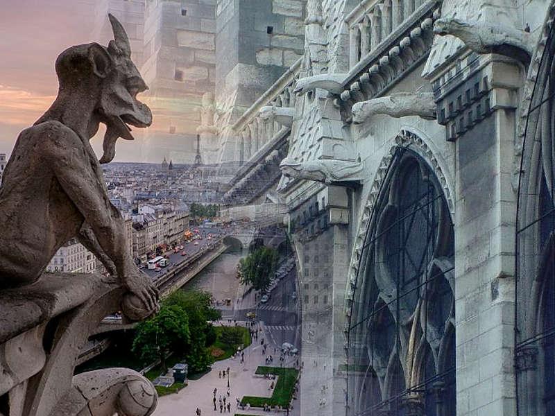 I gargoyle di Notre-Dame fra misteri, leggende e romanzi