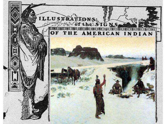 La lingua dei segni degli indiani delle pianure del Nord America