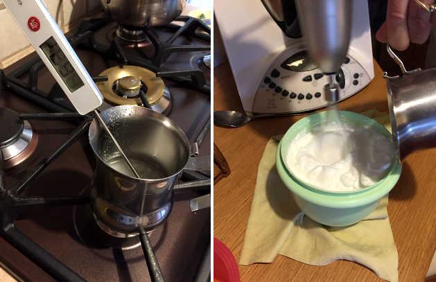 Come pastorizzare le uova a 121 gradi
