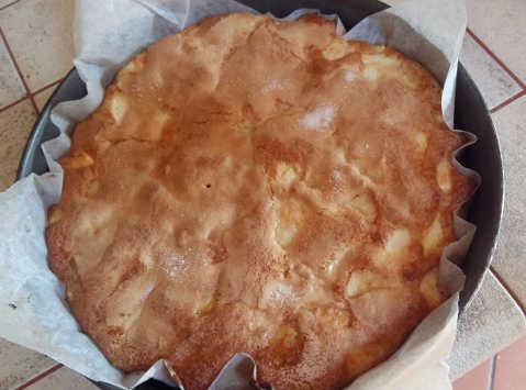 Preparazione semplice e veloce della Torta di mele