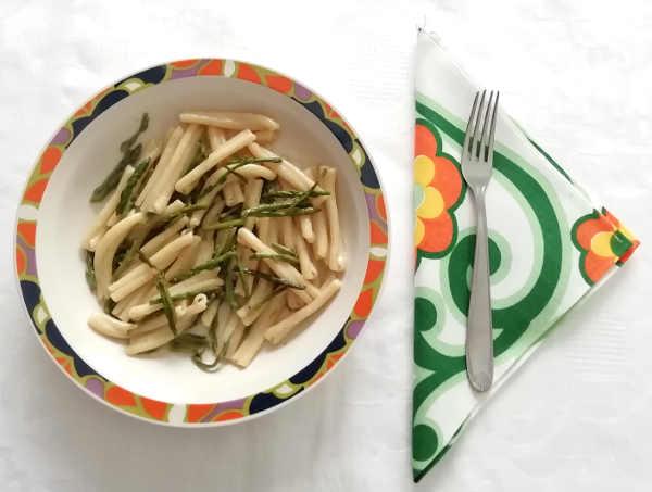 Ricetta delle Caserecce con asparagi freschi
