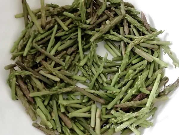 Ingredienti Caserecce con asparagi freschi