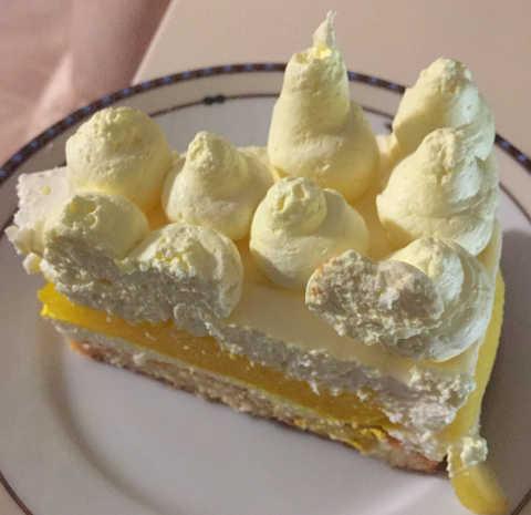 Ricetta del Cheesecake al limone senza glutine e senza cottura