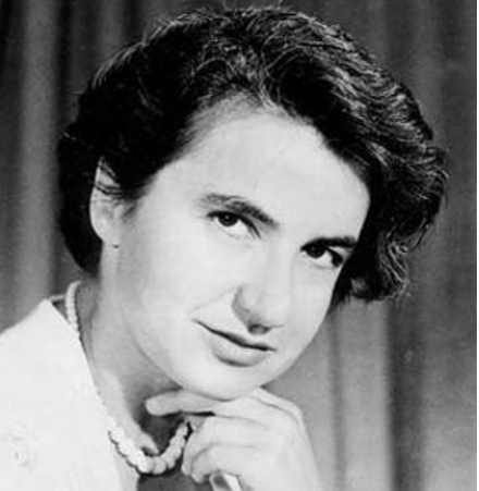 Rosalind Elsie Franklin (Londra, 25 luglio 1920 – Londra, 16 aprile 1958)