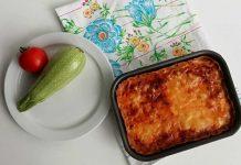 Torta salata di zucchine leggera