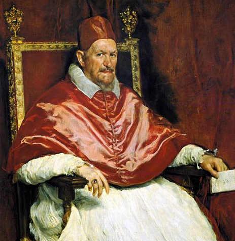 Colore Rosso cremisi Papa Innocenzo X, Diego Velázquez