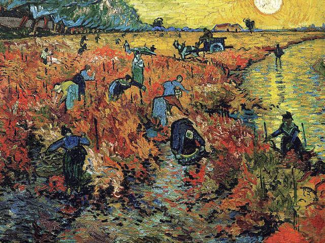 La vigna rossa di Vincent van Gogh