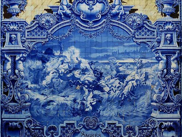 Azulejos Parco Eduardo VII Lisbona