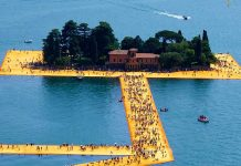 Christo dai The Floating Piers al documentario Walking On Water