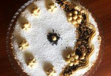 Crostata con ricotta e crema alla nocciola tipo deliziosa