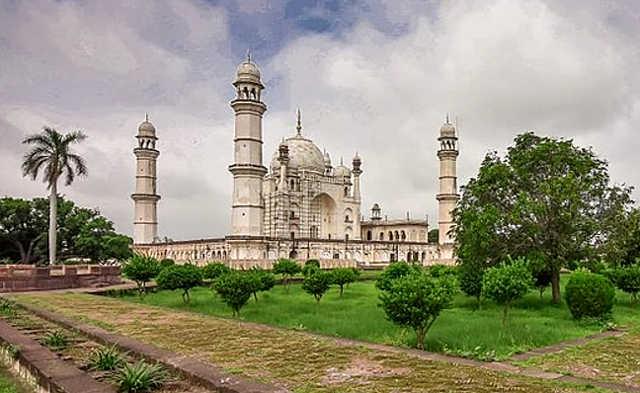 Mausoleo di Bibi Ka Maqbara a Aurangabad