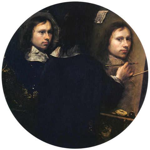 Autoritratto triplo di Johannes Gumpp
