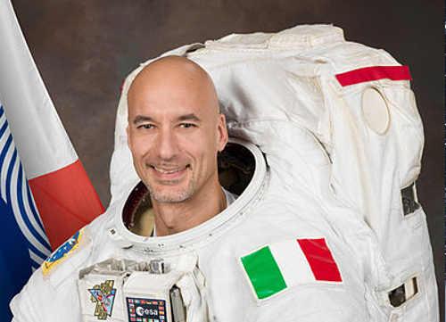 Luca Parmitano grafia e firma
