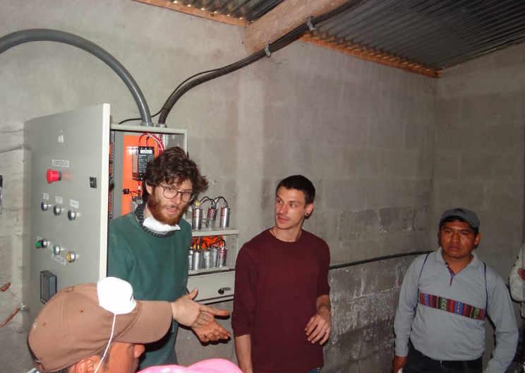 Una storia dal Guatemala, lavoro in una ONG