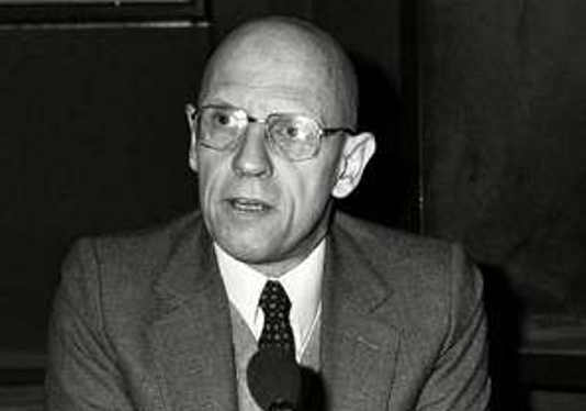 Foto di Michel Foucault