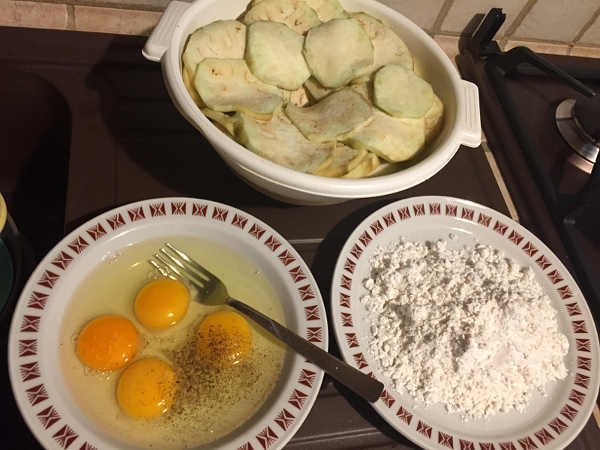 Ingredienti Parmigiana di melanzane senza glutine alla pugliese