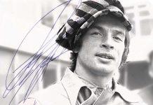Rudolf Nureyev grafologicamente tra le righe di un cigno con le ali ai piedi