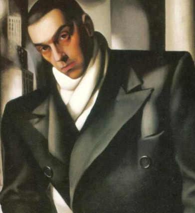 Ritratto di uomo incompiuto (Tadeusz) Tamara de Lempicka