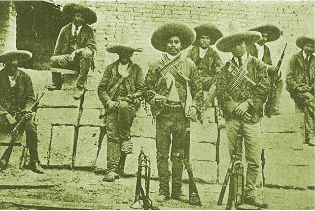 Rurales, Storie di Bandidos messicani (bandoleros)