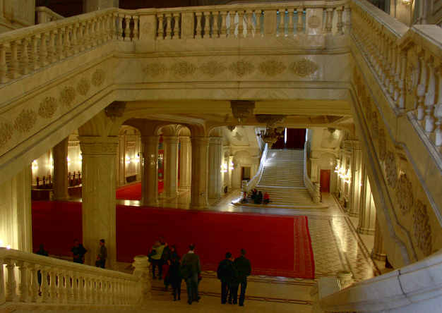 Il palazzo del Parlamento 6