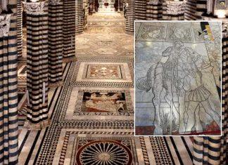 Il pavimento della Cattedrale di Siena